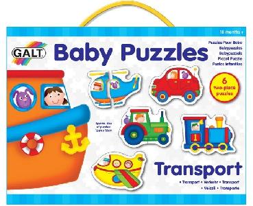 Бебешки пъзел - Превозни средства GALT