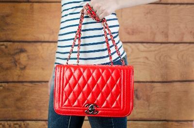 Дамска чанта Kika в червено