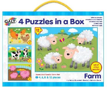 4 пъзела в кутия – Ферма /GALT