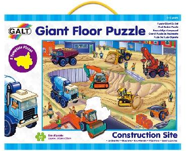 GALT - Строителни машини - гигантски пъзел за под