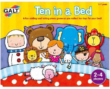 GALT Детска игра - Десет в леглото