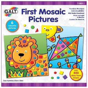 Комплект Моите първи картинки с мозайки - GALT