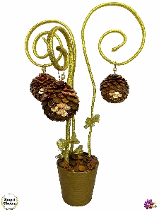 Сувенир - Декоративно дърво на парите и изобилието - 55 см