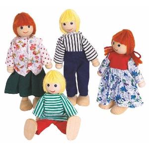 Дървени кукли - деца / Woody