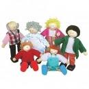 Дървени кукли семейство / Woody