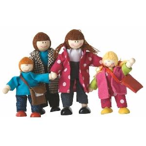 Дървени кукли - семейство / Woody