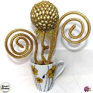 Сувенир - Декоративно цвете на парите и изобилието - 28 см
