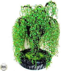Сувенир - Декоративно дърво Плачеща върба от мъниста - 38 см