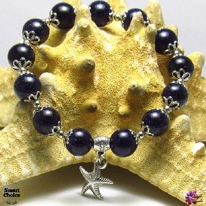 Дамска гривна от естествени камъни Авантюрин - DM-2239