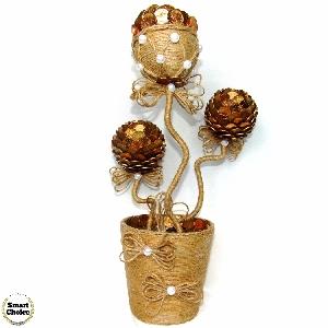Сувенир - Декоративно цвете на парите и изобилието - 37 см.