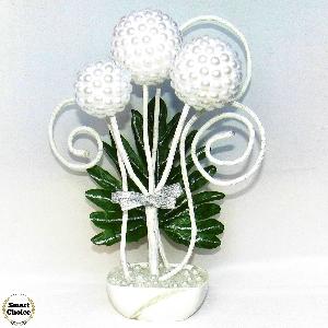 Сувенир - Интериорна декорация с перли - 30 см. Модел DM-9013