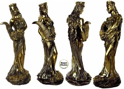 Статуетка - пластика на Фортуна, богинята на щастието и късмета 31 см