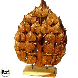 Ръчно изработена интериорна декорация - дърворезба Дърво - 58 см
