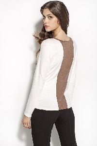 блуза с лента