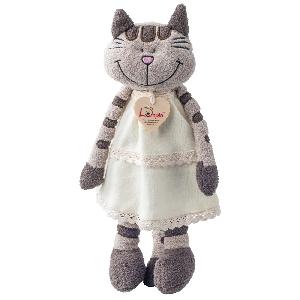 Плюшено коте с рокля Ангелика 36 см // Lumpin