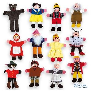 Кукли за пръсти за куклен театър // Andreu toys