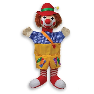 Клоун - кукла за куклен театър  // Andreu toys