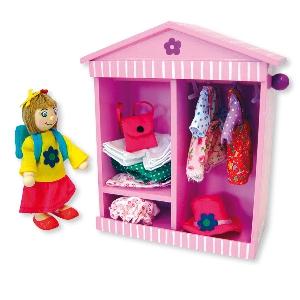 Кукличка с гардероб  // Andreu toys
