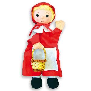 Червената шапчица - кукла за куклен театър // Andreu toys