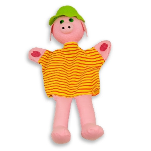 Прасенцето Макс - кукла за куклен театър // Andreu toys