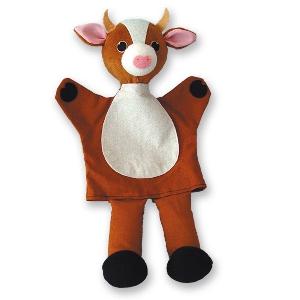 Крава - кукла за куклен театър // Andreu toys