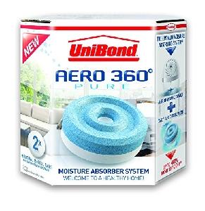 Капсули за Влагоабсорбатор UniBond Aero 360° - Пакет от 2 бр.