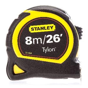 Противоударна джобна ролетка STANLEY TYLON - 8м.