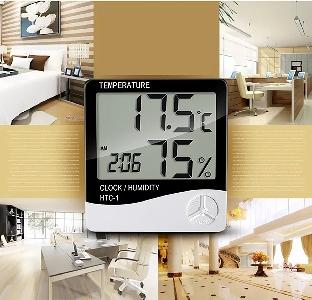 Стаен дигитален термометър/хигромер
