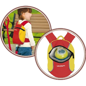 Раничка за деца с каишки за прохождане  // Lindam