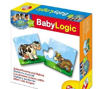 Логически бебешки пъзел  3 модела  // Lisciani Giochi