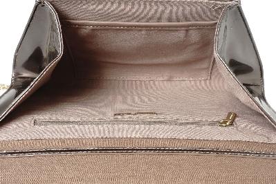 Дамска официална чанта-плик, под формата на малко писмо с плюшен капак