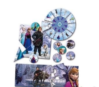 Детска образователна  игра Frozen // LISCIANI