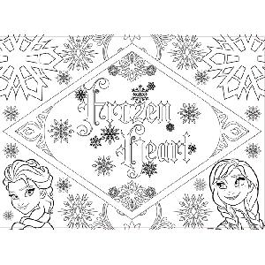 Maxi пъзел за деца  Елза и Ана, Замръзналото Кралство / Frozen //  Lisciani