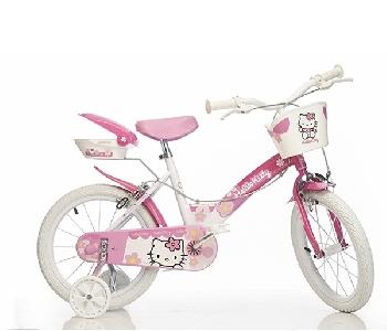 29cdb3845e4 Колело Hello Kitty за деца // Dino Bikes 16 инча - Badu.bg - Светът ...