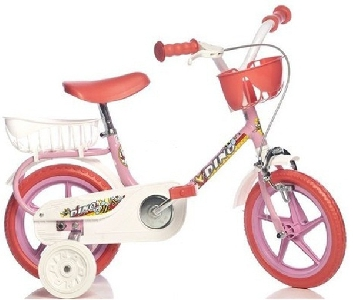 e969cef3c36 Розово колело за деца Dino Bikes 10 инча - Badu.bg - Светът в ръцете ти