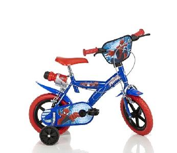 Спайдърмен Детско колело // Dino Bikes 12 инча