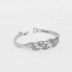 Стилна гривна с блестящи кристали