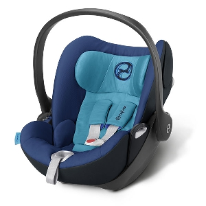Синьо детско столче за кола // Cybex Cloud Q True Blue