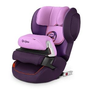 Лилаво детско столче за кола // Cybex Juno 2 Fix Grape Juice