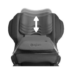 Зелено детско  столче за кола // Cybex Juno 2 Fix Hawaii