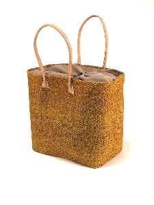 Дамска удобна, едноцветна кошница за лятото