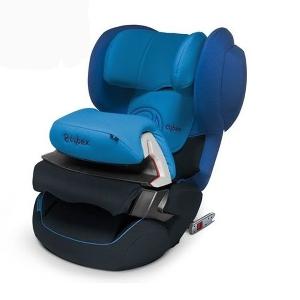 Синьо детско столче за кола // Cybex Juno Fix Heavenly Blue
