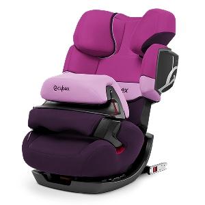 Лилаво детско столче за кола // Cybex Pallas 2 Fix Purple Rain