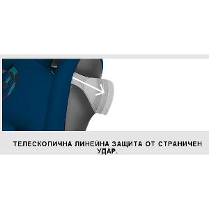 Червено детско столче за кола // Cybex Pallas M Fix Hot and Spicy
