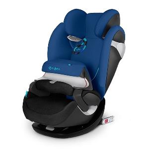 Синьо детско столче за кола // Cybex Pallas M Fix True Blue