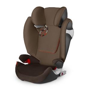 Кафяво детско столче за кола Coffee Bean // Cybex Solution M Fix