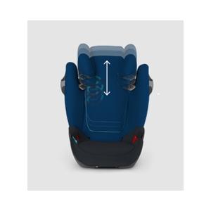 Лилаво детско столче за кола // Cybex Solution M Fix Grape Juice