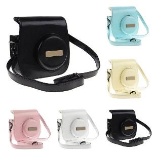 Кожен Калъф за Fuji Fujifilm Instax Mini 8 8s